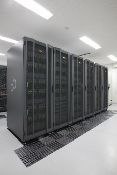 FOCUSスパコンを活用した企業の高度化支援(写真)